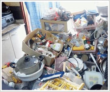 ゴミ屋敷と現代社会の状況