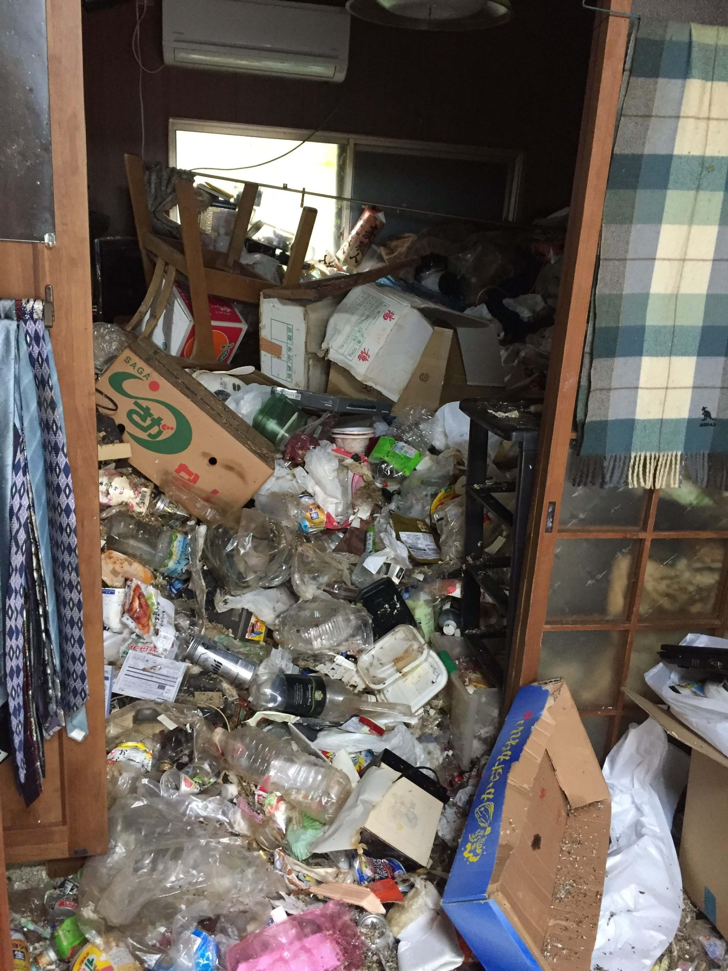 大阪でのゴミ屋敷かたづけ