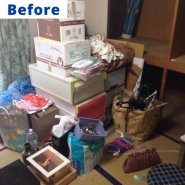 宝塚市で不用品回収のご依頼いただきました【料金記載】
