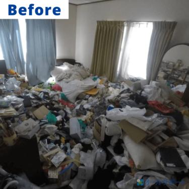 茨木市にてお部屋の整理及び不用品お片付けのご依頼頂きました【料金記載】