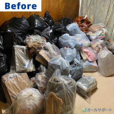 大阪市住吉区にて不用品回収のご依頼頂きました【料金記載】