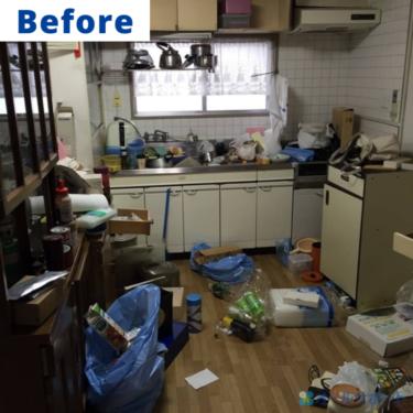 尼崎市にて不用品の処分のご依頼で片付けと不用品回収をさせて頂きました【料金記載】