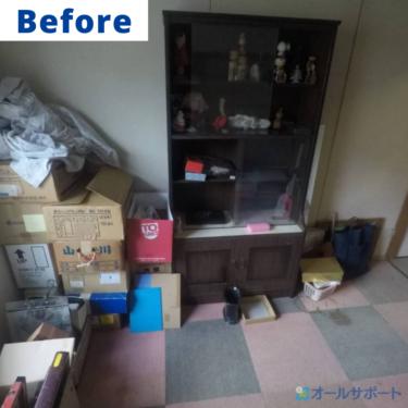 吹田市の府営住宅一室丸々の不用品お片付けのご依頼を頂きました【料金記載】