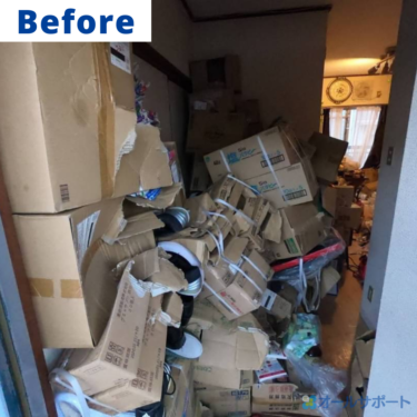東大阪市にて仕分け作業と不用品の引取のご依頼頂きました【料金記載】