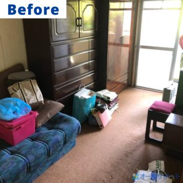 三島郡島本町にてマンション一室のお片付けに伴う不用品回収のご依頼頂きました【料金記載】