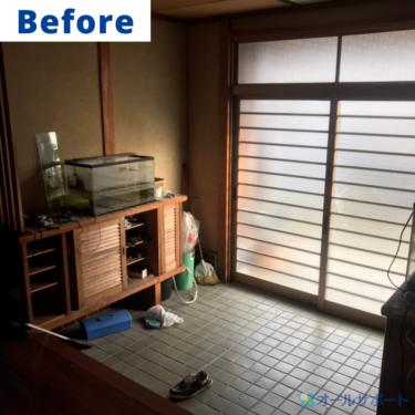 宝塚市で一戸建ての不用品全回収のご依頼頂きました【料金記載】