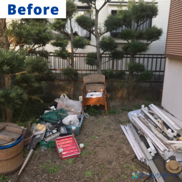 西宮市で一軒家から出た不用品の回収と梱包作業のご依頼頂きました【料金記載】