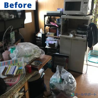 尼崎市で不用品回収を一軒家でさせていただきました【料金記載】