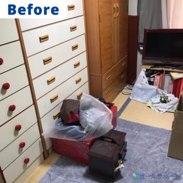 川西市で一軒家から出た不用品の回収と梱包作業のご依頼頂きました【料金記載】