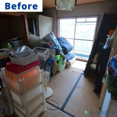 堺市の府営住宅の一室のお片付けのご依頼を頂きました【料金記載】