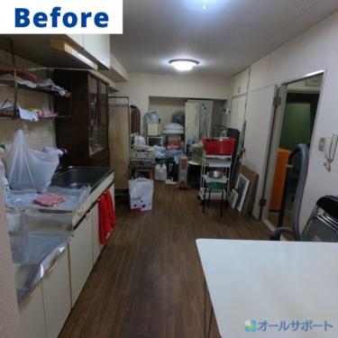 天王寺区にてマンション一室の不用品回収のご依頼頂きました【料金記載】
